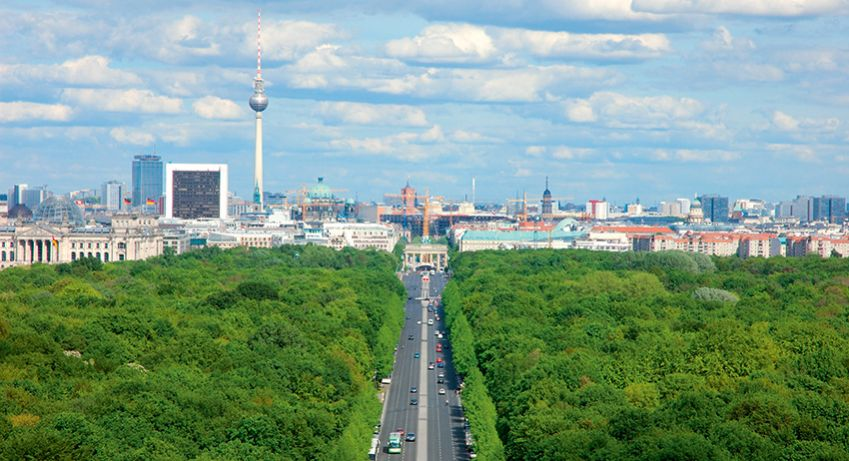 Take a bike ride in Berlin's Tiergarten.