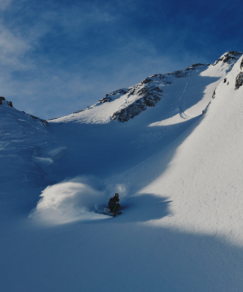 Tignes is very snow safe and has a long season. Photo: Anton Enerlöv
