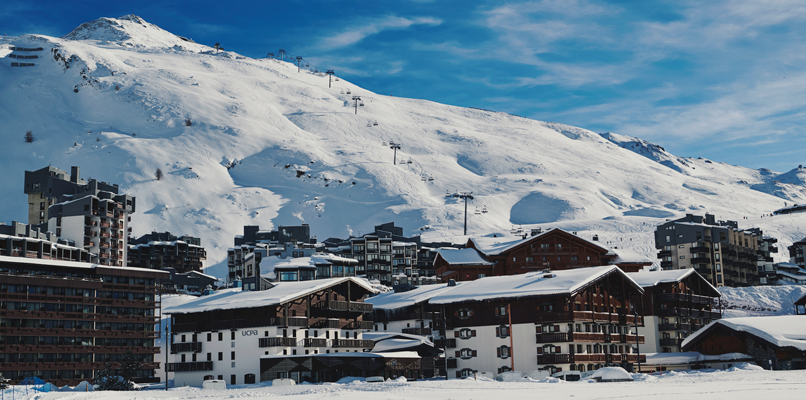 Byn Tignes is a pearl that has attracted skiers since 1936. Photo: Anton Enerlöv