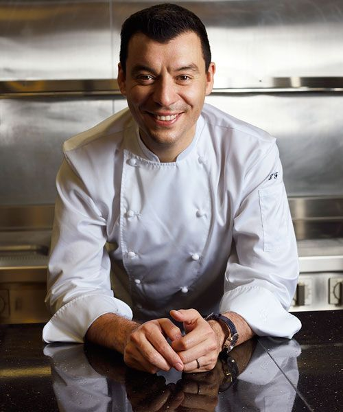 Luca Fantin, whose eatery is ranked number 18 on the Asia's 50 Best Restaurants list, was voted the world's best Italian chef by Identitá Golose in 2015.