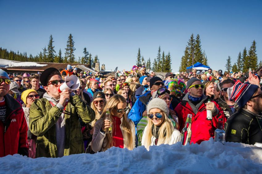 Seterrock is hosted by Knettsetra in Trysil and the atmosphere is unbelievable. Photo: Ola Matsson/Skistar.com