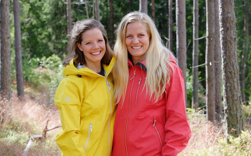 The sisters Hege & Stine  Schultz-Heireng has written two books about the outdoors.