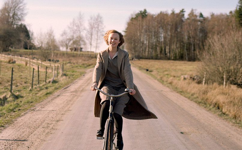 Becoming Astrid sees August take on the early life of Sweden's favorite children's author.