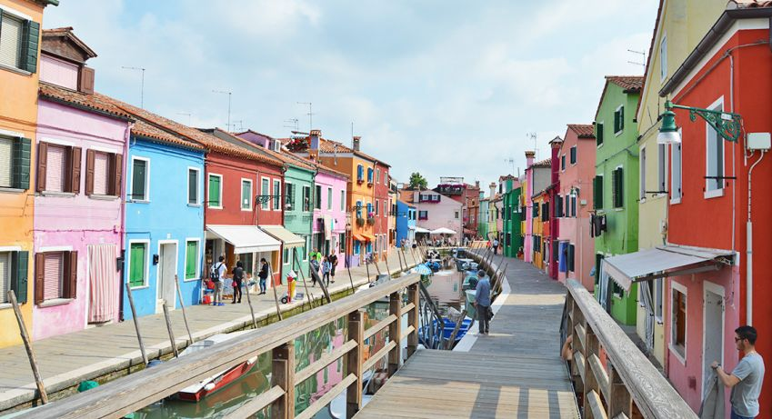 Colorful Burano. Photo: Emma Brink