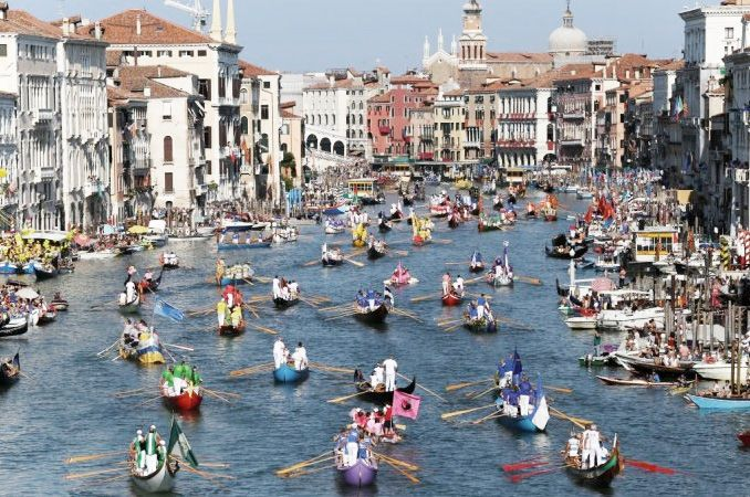 Venice's annual Historic Regatta