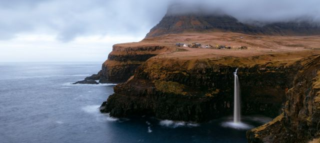 Experience the beautiful nature <br />of the Faroe Islands