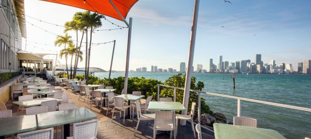 Where to eat and drink outdoors in Miami